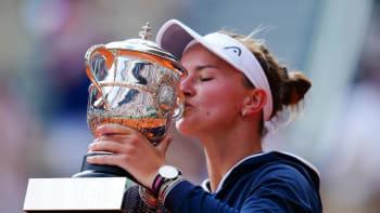 Senzace je dokonána! Krejčíková to na Roland Garros dotáhla až k trofeji