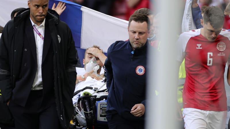 Sledujte ŽIVĚ Hlavní zprávy: Kardiochirurg o Eriksenově nečekaném boji o život na hřišti