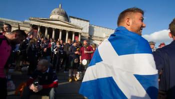 Skotský fanoušek: Jste dobří, ale porazíme vás. I když Souček hraje fantasticky