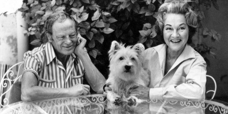 S manželem a módním návrhářem Benem Pearsonem, se kterým žila v zahraničí. Zůstala s ním až do jeho smrti i přesto, že Ben byl homosexuál.