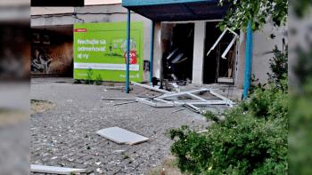 Série výbuchů na Slovensku. Do povětří vyletěly bankomaty po celé zemi