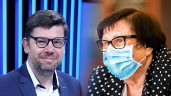 Sledujte Partii s Pospíšilem a Benešovou: Jsou protiepidemická nařízení nelegální?