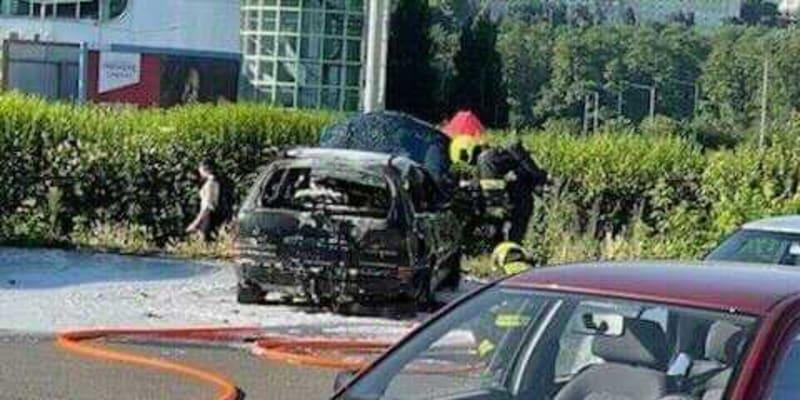 Hasičský vůz zasahoval v ulici Švehlova.