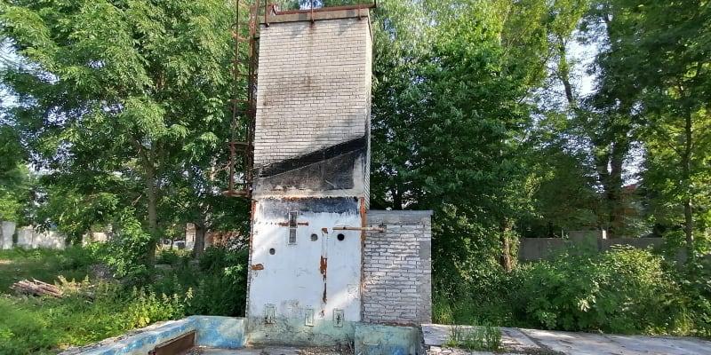 Trosky sovětských kasáren u Černé cesty téměř v centru Olomouce