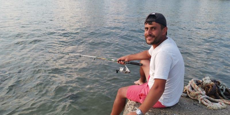 Mladý podnikatel Abdul z Turecka se na turisty těší.