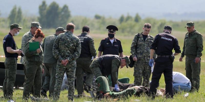 Při havárii letadla s parašutisty zemřeli na Sibiři nejméně čtyři lidé.