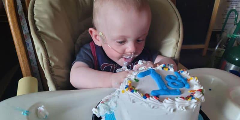 Malý Richard se narodil o 161 dní dříve, než měl. Nyní slaví své první narozeniny. (Autor: Guinness world records)