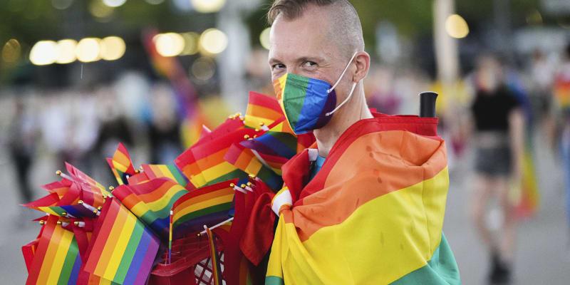 Příznivců hnutí LGBT se v Allianz Areně sešly tisíce.