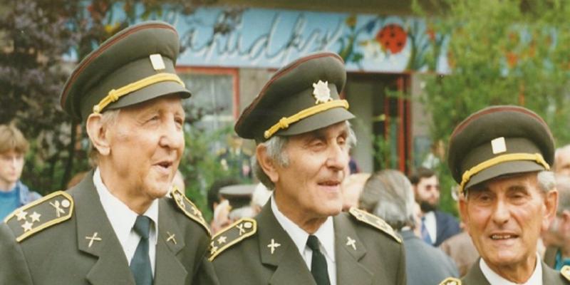 Plukovníci Josef Čech, Jan Bret a Luboš Hruška