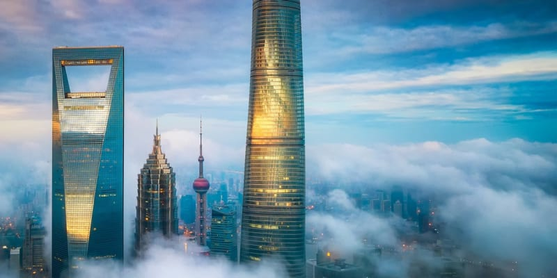 Šanghajská věž, nejvyšší budova Číny