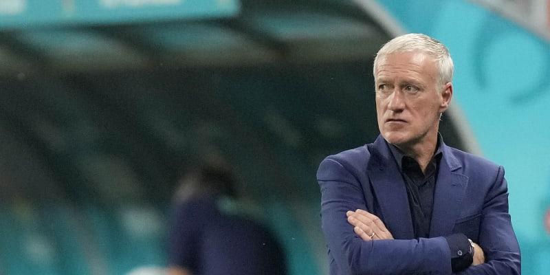 Trenér Francie Didier Deschamps