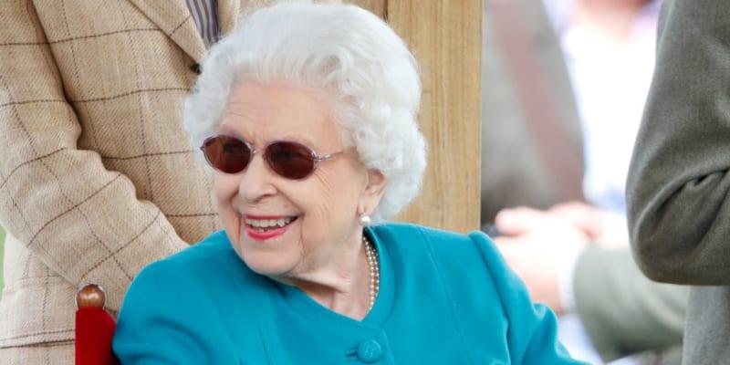Královna Alžběta II. během prvního dne Royal Windsor Horse Show