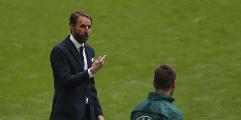 Trenér Anglie Gareth Southgate