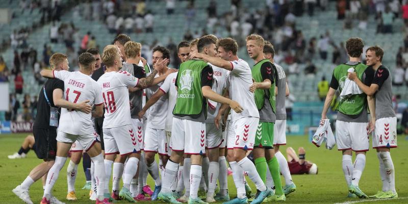 Podruhé v historii postoupilo Dánsko do semifinále Eura.