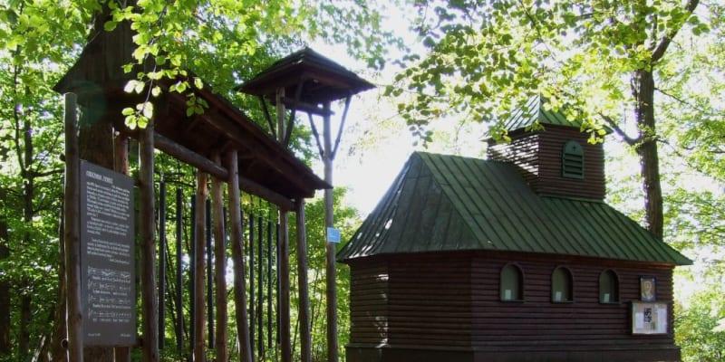Hradisko sv. Klimenta ve Chřibech. Další z údajných míst, kde byl pohřben sv. Metoděj.