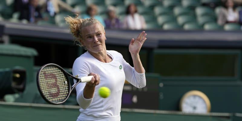 Česká teniska Kateřina Siniaková