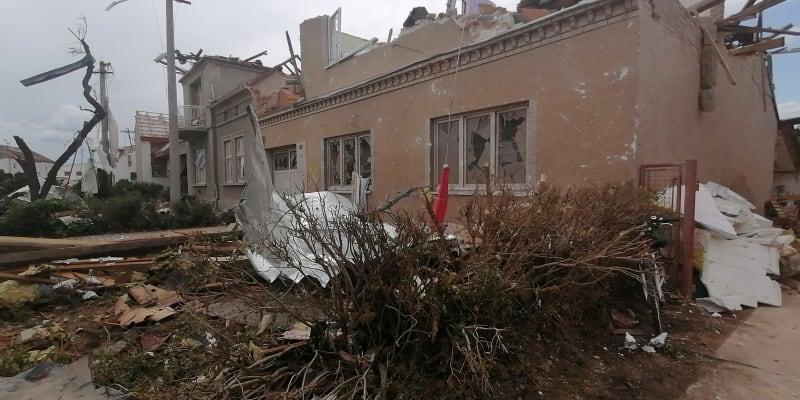 Lužice, 25. června, apokalypsa v centru obce