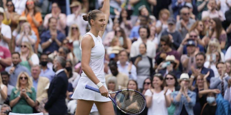 Karolína Plíšková doletěla na Wimbledonu až do finále.