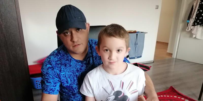 Jan Kalaj se synem