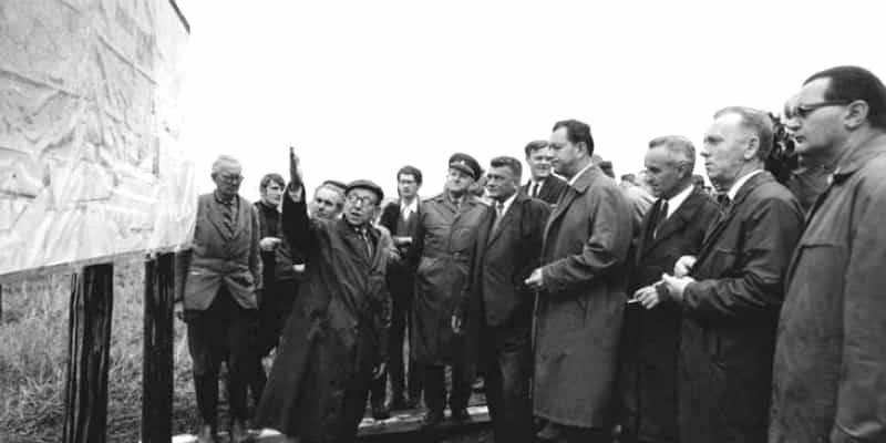Zahájení stavby v roce 1967