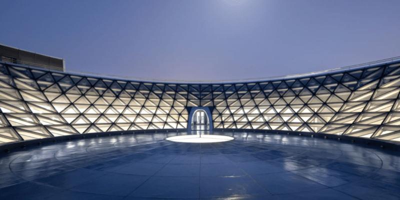 Stavba je považována za největší muzeum astronomie na světě.