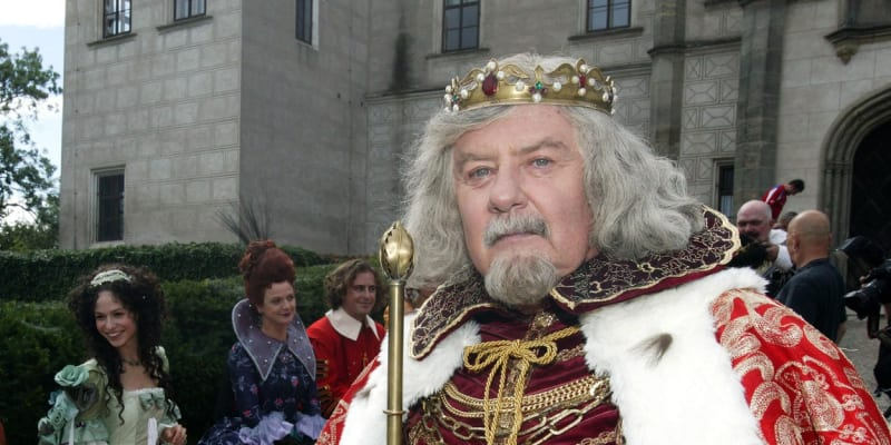 Ladislav Potměšil v pohádce Nejkrásnější hádanka