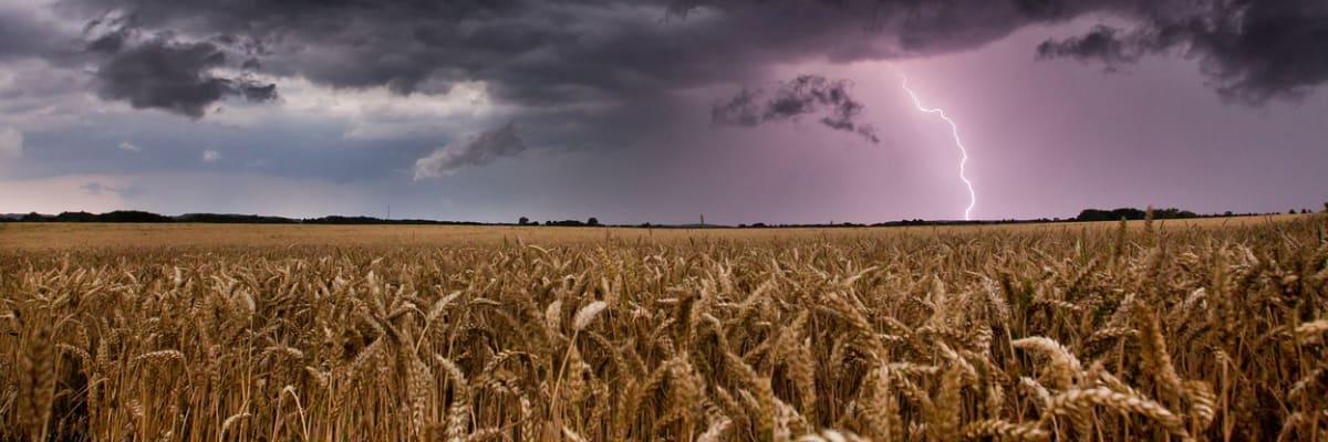 Na Česko se opět ženou bouřky. Meteorologové varují před krupobitím a silným větrem