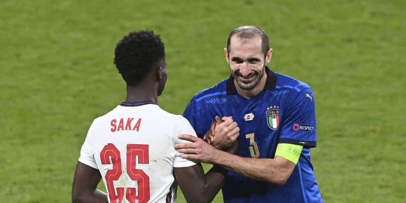Oba hráči si následně podali ruce a vše brali s humorem.