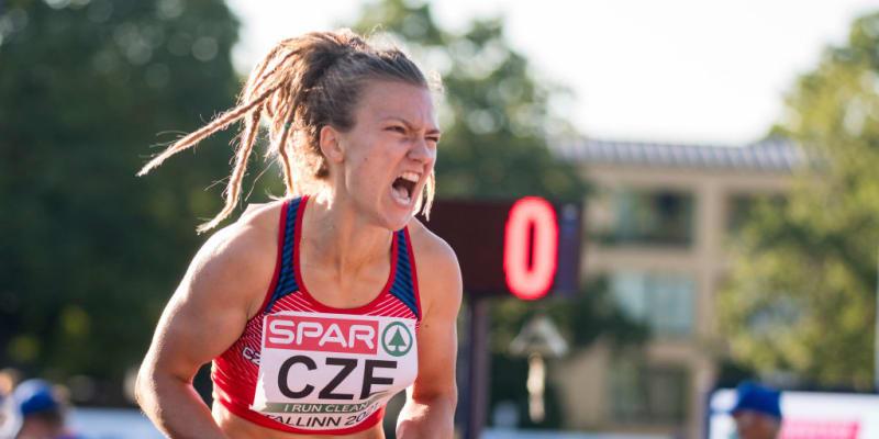Česká atletka Barbora Malíková