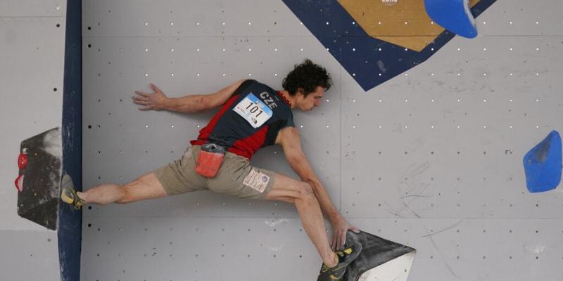 Adam Ondra v Salt Lake City