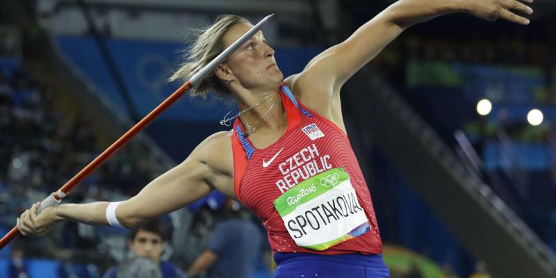 Špotáková na olympiádě v Rio de Janeiru v roce 2016