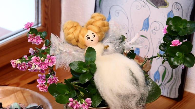 Vyrobte si plstěnou vílí panenku podle našeho návodu