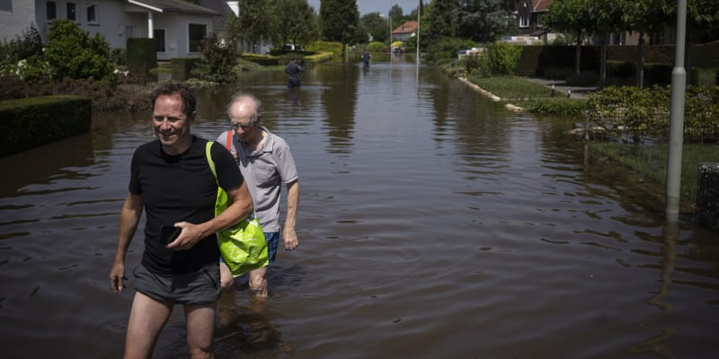 Povodně zasáhly i Nizozemsko. Oproti jiným státům si však země dokázala skvěle poradit.