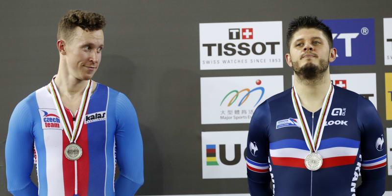 Tomáš Bábek (vlevo) chce v Tokiu vybojovat medaili.