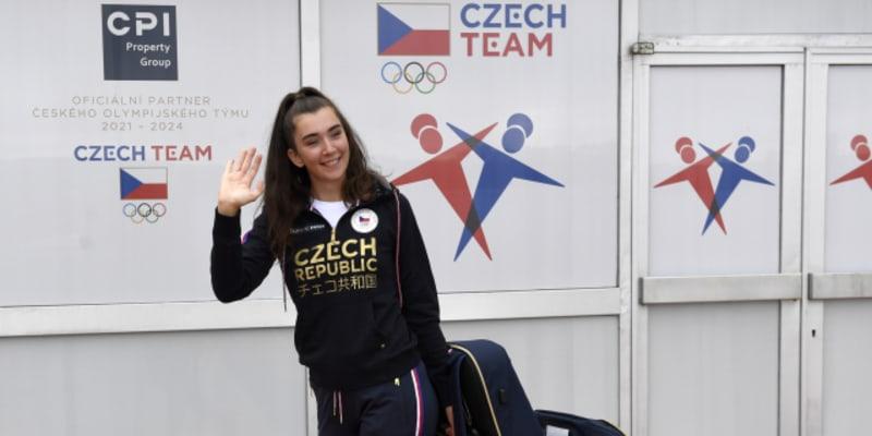 Marie Horáčková je na své první olympiádě.