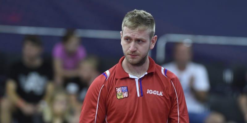 Pavel Širuček, reprezentant ČR ve stolním tenise