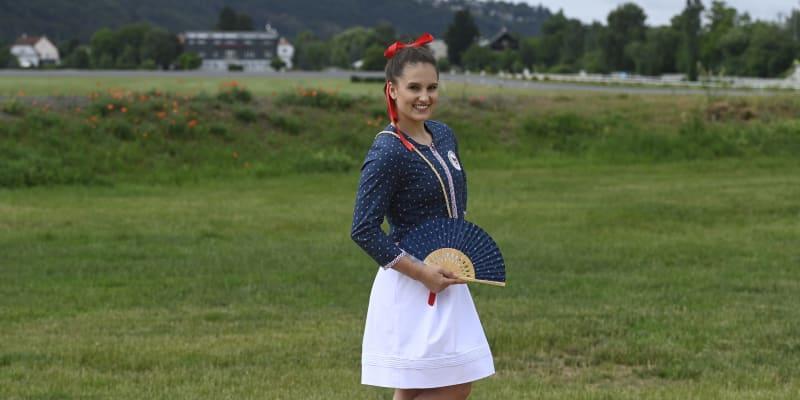 Aneta Holasová v olympijské kolekci