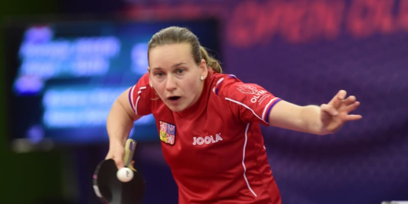 Hana Matelová je stolní tenistka.