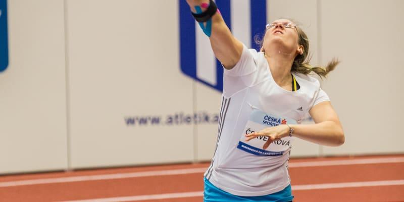 Markéta Červenková je na olympiádě poprvé.