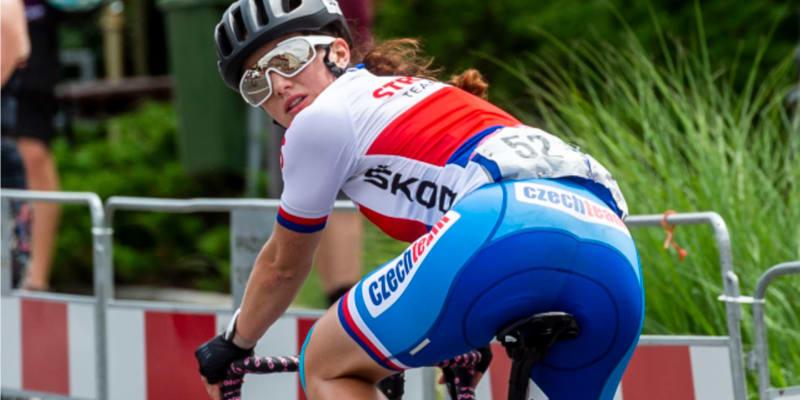 Cyklistka Tereza Neumanová