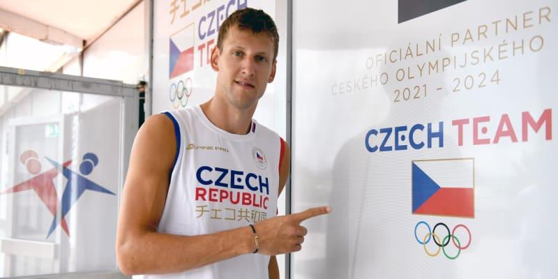Jan Veselý míří na olympiádu do Tokia.