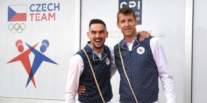 Jan Veselý (vpravo) a Tomáš Satoranský