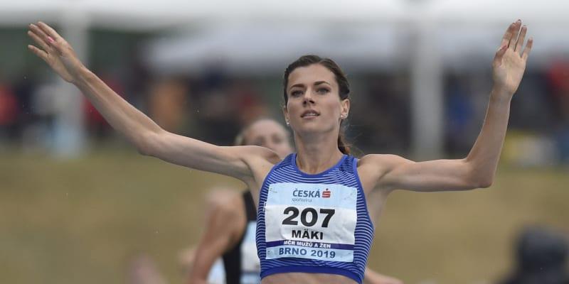 Kristiina Mäki je česká atletka.