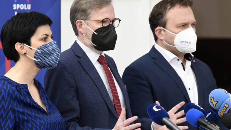 Pekarová: U sňatků homosexuálů se s Fialou a Jurečkou neshodnu, přesto se respektujeme