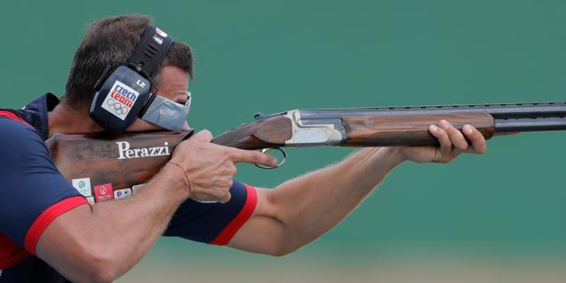 David Kostelecký v akci na olympiádě v Riu de Janeiru.
