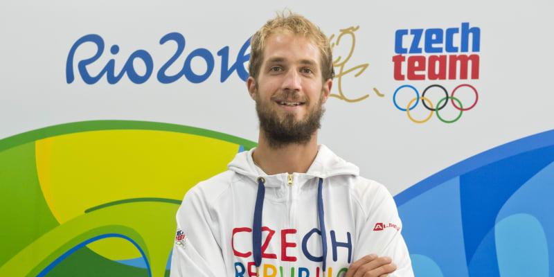 Karel Lavický reprezentuje ČR na olympiádě.