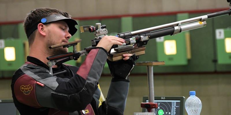 Sportovní střelec David Hrčkulák (Autor: Dukla Sport)