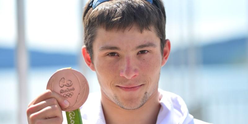 Jiří Prskavec ml. získal na OH v Riu v roce 2016 ve vodním slalomu kajakářů bronz.