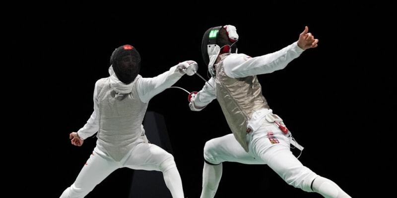 Alexander Choupenitch (vpravo) na Letních olympijských hrách 2021 v Tokiu
