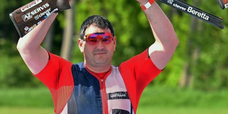 Na evropském šampionátu v Chorvatsku v roce 2021 Lipták vystřílel stříbro. (autor: Jiří Lipták)